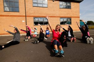 Eight Darlington Building Sociey colleagues are taking part in the Great North Run to raise money for charity.