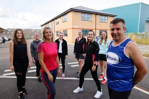 Darlington Building Society team goes extra mile for charity by tackling Great North Run